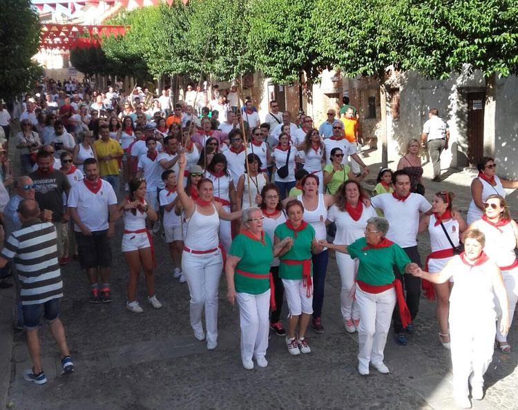 Camino del encierro de Brihuega (Foto: Isabel Garrido)