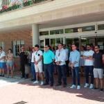 Concentración en Cabanillas de repulsa por los atentados en Cataluña
