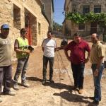 La Diputación está ejecutando diversas obras en Galápagos, Matarrubia, Torrebeleña y  La Toba