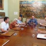 La Diputación de Guadalajara suscribe cuatro convenios con organizaciones de carácter social