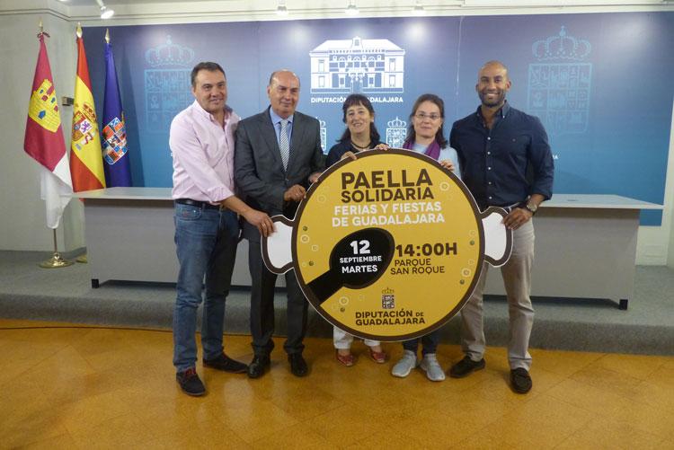 Presentación de la Paella Solidaria