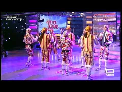 El grupo galvito durante su participación en el programa 'Con ton y son' de CMM.