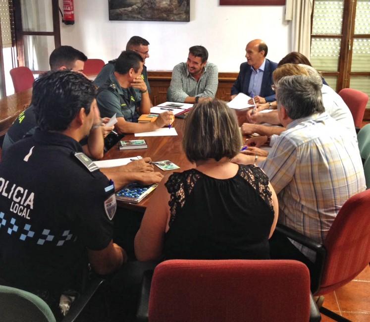 El ayuntamiento de Marchamalo prepara el dispositivo de seguridad e cara a las fiestas