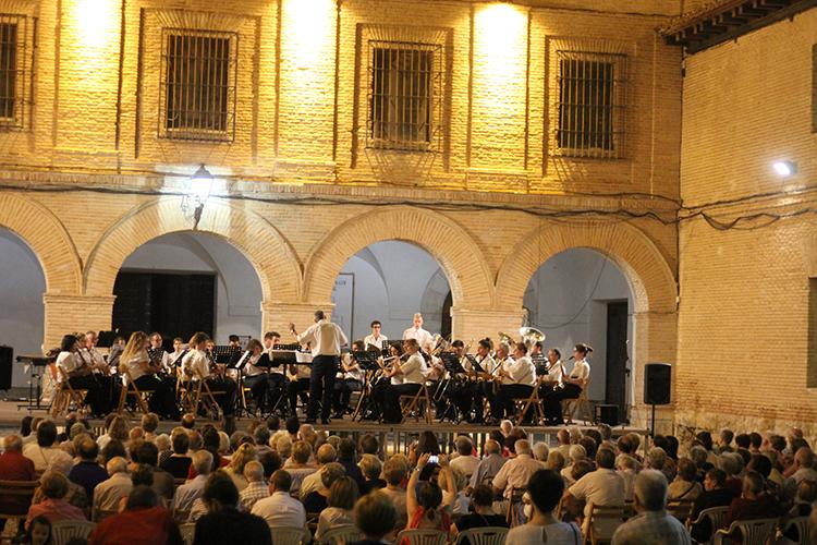 Concierto de la banda de música de Pastrana