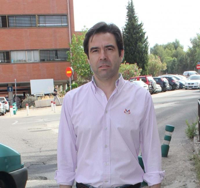 Lorenzo Robisco denuncia la falta de inversiones en el Hospital de Guadalajara