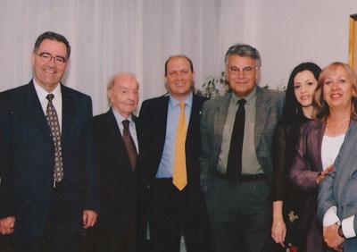 Felipe González también participó en alguna de las conferencias de Siglo Futuro