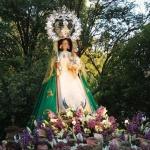 La Virgen de la Antigua es trasladada a la iglesia de San Francisco
