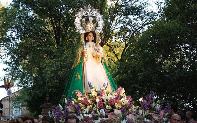 Imagen de la Virgen de la Antigua, patrona de Guadalajara