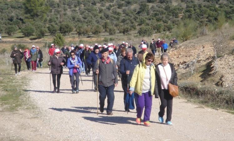 Participantes de una de las rutas senderistas del pasado año