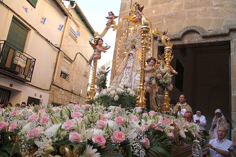 Almonacid de Zorita se prepara para las fiestas de la Virgen de la Luz