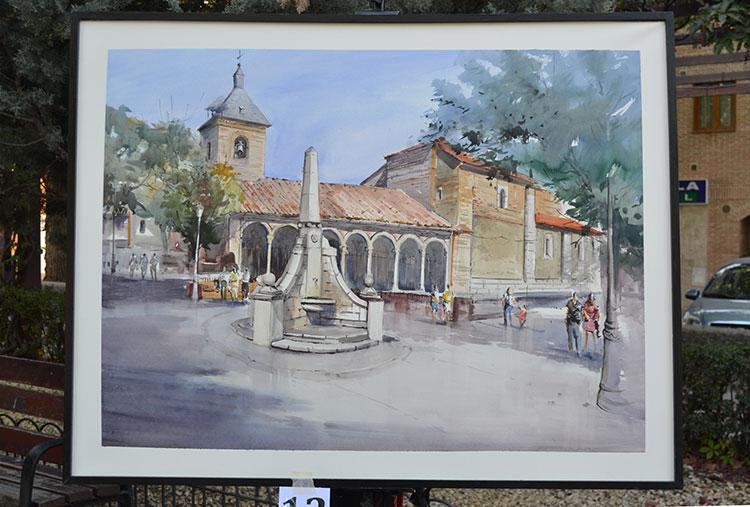 El cuadro ganador de María Victoria Moreno Boyano, de Madrid