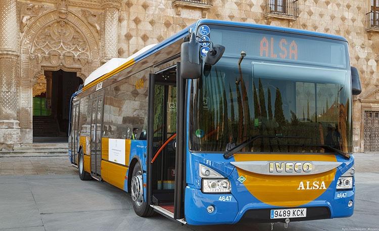 Uno de los autobuses puestos en marcha en las últimas semanas