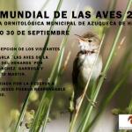 El día 30, jornada de puertas abiertas en la Reserva Ornitológica de Azuqueca