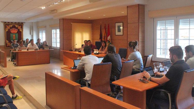 Pleno del Ayuntamiento de Cabanillas