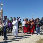 Cientos de personas en la tradicional romería del Alto Rey