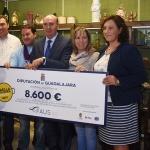 La Paella Solidaria organizada por la Diputación logra recaudar 8.600 euros para AFAUS Pro Salud Mental