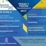 Diputación promueve diversas actividades durante las Ferias y Fiestas de Guadalajara