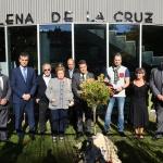 Homenaje a Elena de la Cruz en la Escuela de Arte que ya lleva su nombre