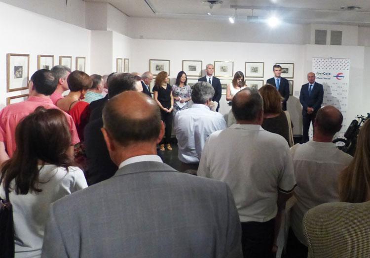 Inauguración de una de las exposiciones