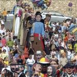 Mangurrino saldrá el viernes en la Comparsa de Gigantes y Cabezudos