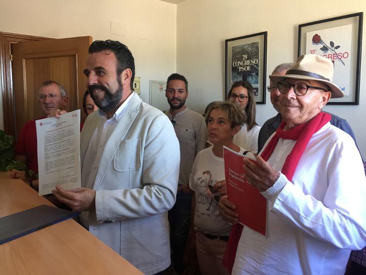 José Luis Blanco presenta su precandidatura a la secretaria regional