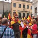 Un millar de personas se concentran en Guadalajara a favor de la unidad de España