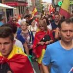Concentración en Guadalajara a favor de la Unidad de España