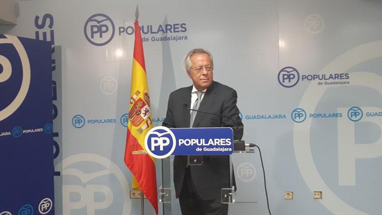 El diputado del PP por Guadalajara, Ramón Aguirre