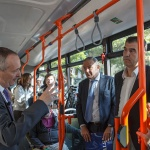 Se incorpora un nuevo vehículo a la flota de autobuses urbanos