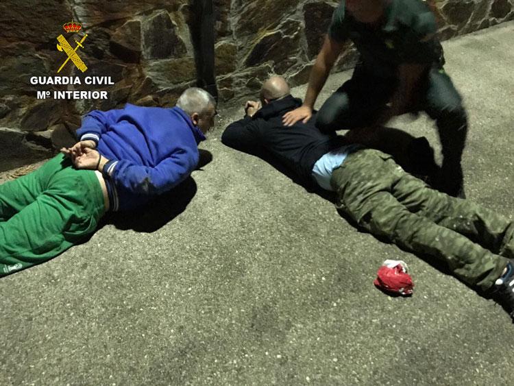 Detención de los dos presuntos autores de un robo en Tamajón