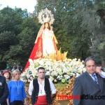 Miles de personas acompañaron a la Virgen de la Antigua hasta su santuario