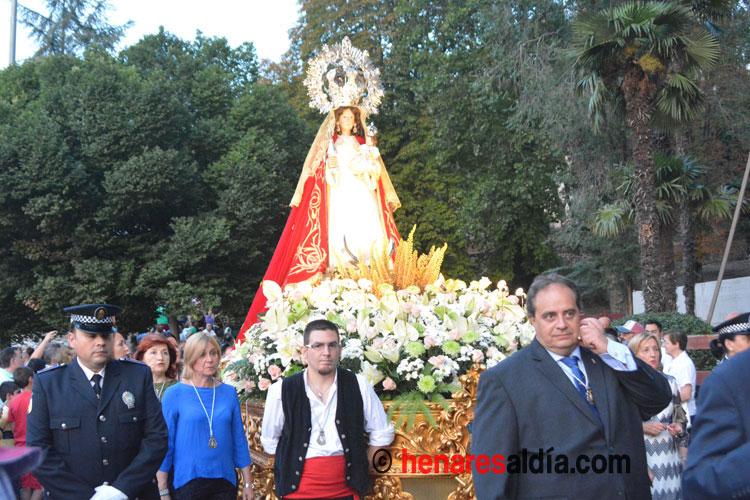 Procesión de la Virgen de la Antigua 2017