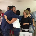 Blanco, tras su derrota, afirma que seguirá trabajando por el PSOE