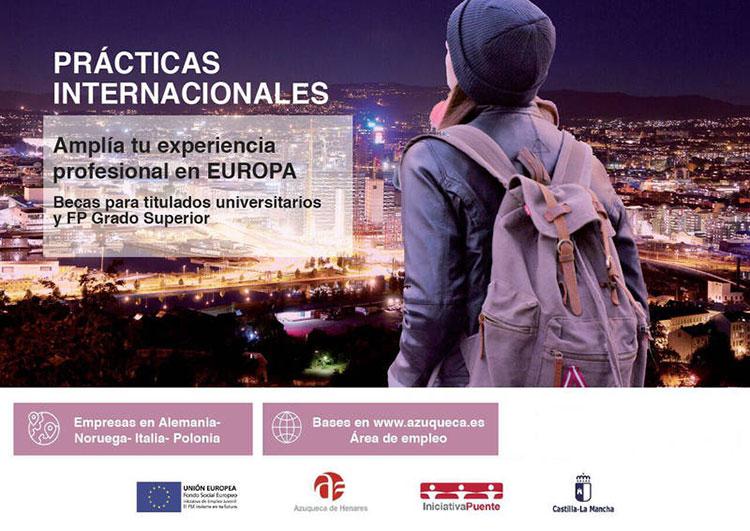 El plazo para solicitar las prácticas internacionales del programa Iniciativa Puente se ha ampliado hasta el día 13 de octubre
