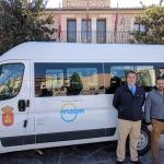 Enagás aporta al Ayuntamiento de Brihuega un vehículo propulsado por gas natural