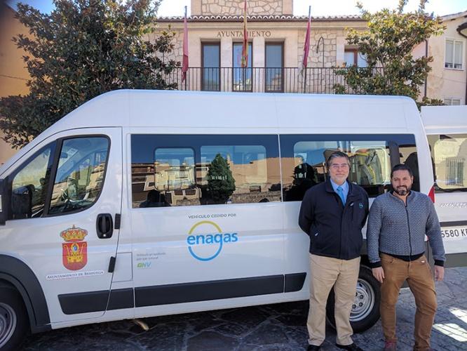 Nuevo vehículo a gas del ayuntamiento de Brihuega