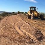 Comienzan las obras de mejora en el Camino Zalagarda