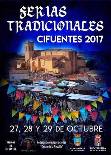 Cartel de la Ferias Tradicionales de Cifuentes