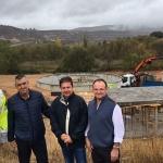 La nueva depuradora de Sacedón podrá dar servicio a una población de 6.000 habitantes una vez concluyan las obras