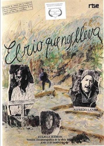 """Cartel de """"El rio que nos lleva"""""""