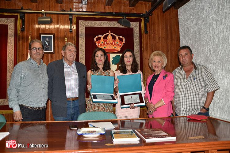 Fuentelencina organizó un homenaje a Manolete y Fandiño (Foto Manuel López Tabernero)