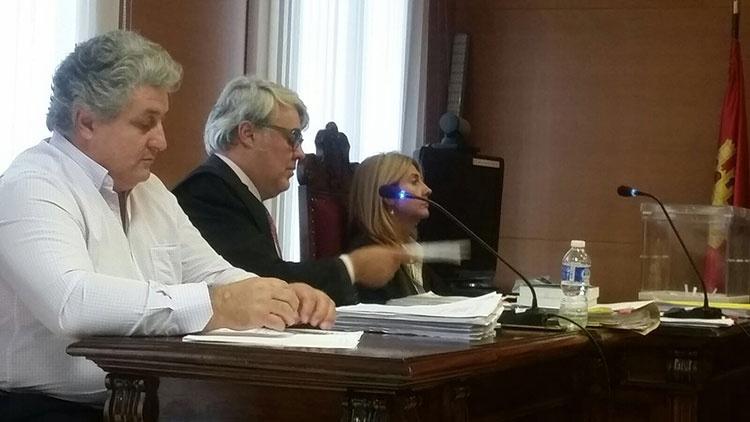 Un momento de la vista oral contra César Urrea