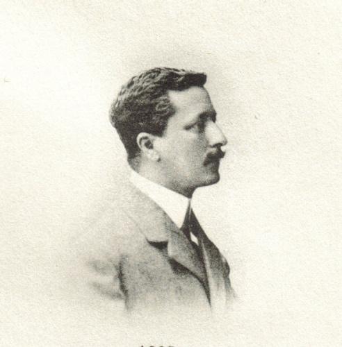 Serrano Sanz, hacía 1890