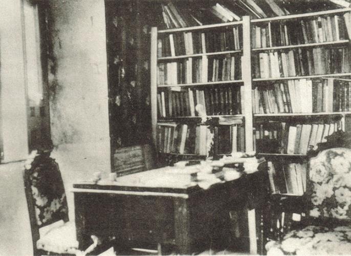 Despacho de Manuel Serrano Sanz en Sigüenza