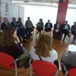 Diputación se reúne con los alcaldes de la ruta del viaje a la Alcarria y El río que nos lleva