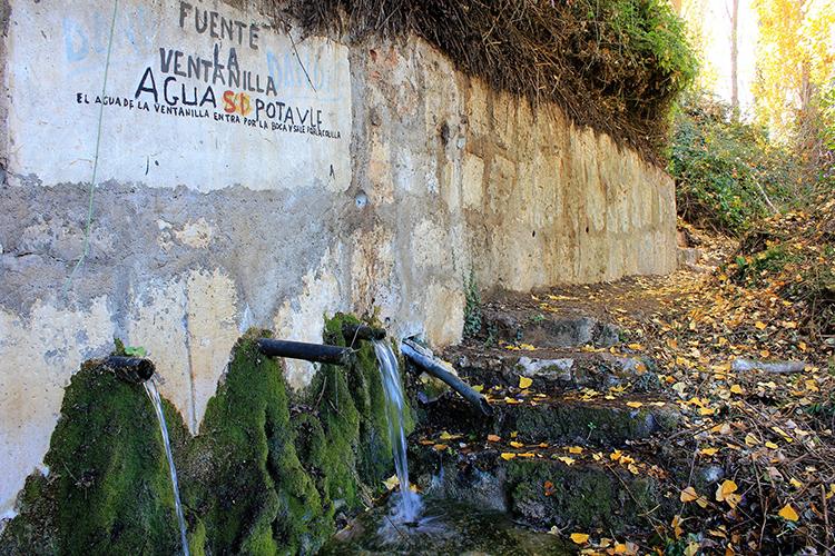 Fuente de la Ventilla en Yebes