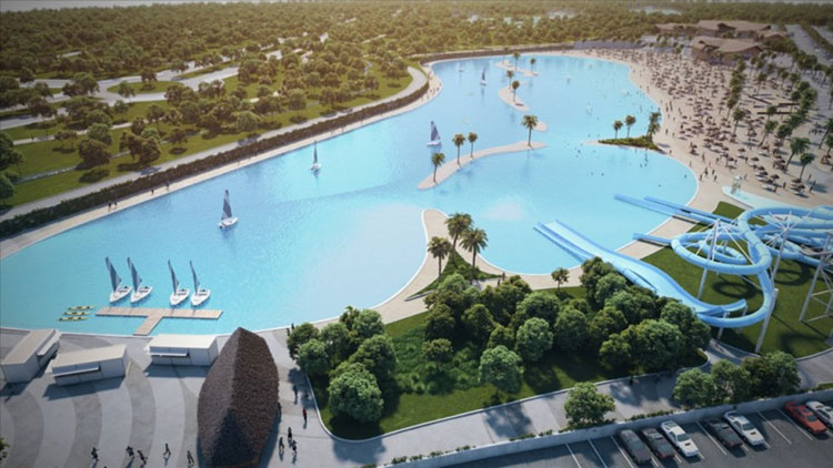 Una imagen del proyecto que se piensa construir en Alovera