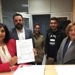 Ana Fabián presenta su precandidatura a la Secretaría General del PSOE en Guadalajara