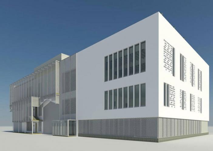 Proyecto del futuro centro cultura de Azuqueca