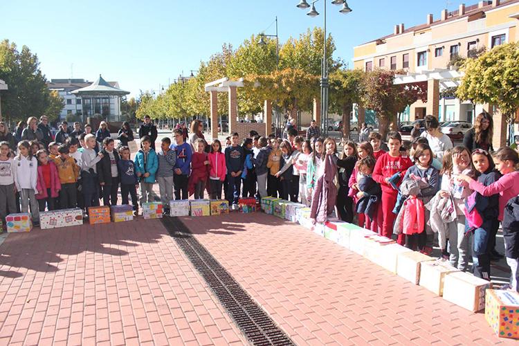 """Los alumnos participaron en el """"Día Universal del Niño"""""""